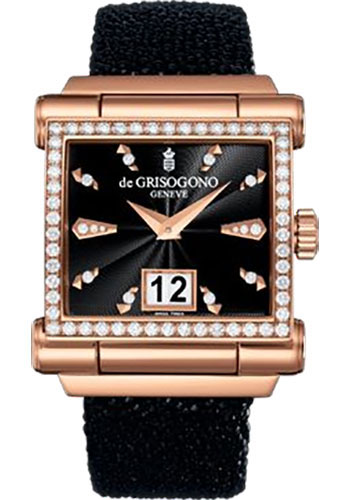 de Grisogono Watches - Grande Rose Gold - Style No: GRANDE S06