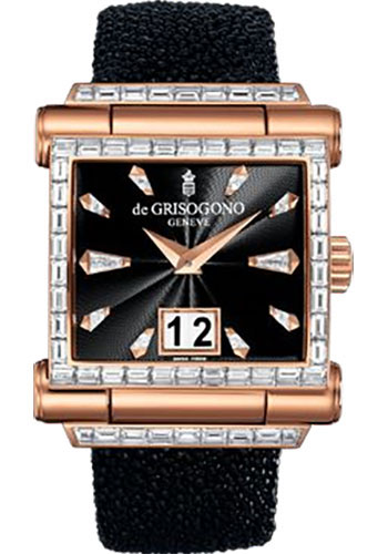 de Grisogono Watches - Grande Rose Gold - Style No: GRANDE S25D-001