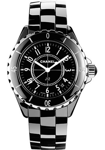 Chanel Watches - J12 Black Ceramic 33mm Quartz - Style No: H0682