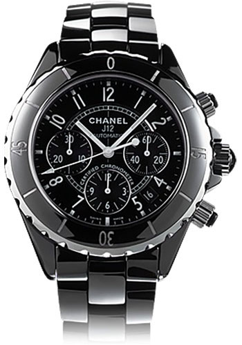 Chanel Watches - J12 Black Ceramic 41mm Chronograph - Style No: H0940