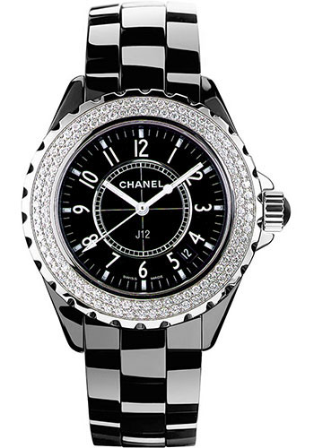 Chanel Watches - J12 Black Ceramic 33mm Quartz - Style No: H0949