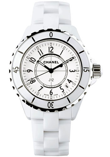Chanel Watches - J12 White Ceramic 33mm Quartz - Style No: H0968