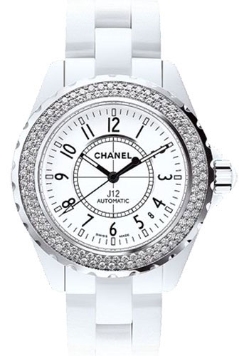 Chanel Watches - J12 White Ceramic 38mm Automatic - Style No: H0969
