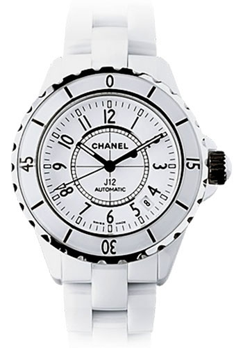 Chanel Watches - J12 White Ceramic 38mm Automatic - Style No: H0970