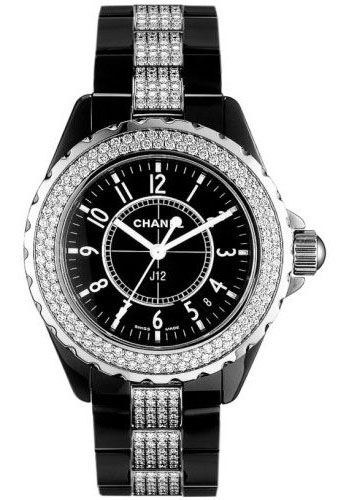 Chanel Watches - J12 Black Ceramic 33mm Quartz - Style No: H1338