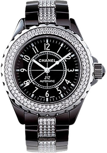 Chanel Watches - J12 Black Ceramic 38mm Automatic - Style No: H1339