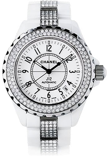 Chanel Watches - J12 White Ceramic 38mm Automatic - Style No: H1422