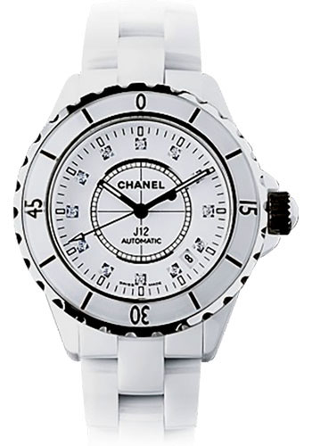 Chanel Watches - J12 White Ceramic 38mm Automatic - Style No: H1629