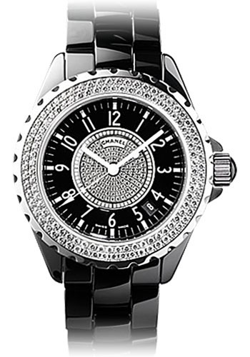 Chanel Watches - J12 Black Ceramic 38mm Automatic - Style No: H1709