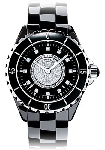 Chanel Watches - J12 Black Ceramic 38mm Automatic - Style No: H1757