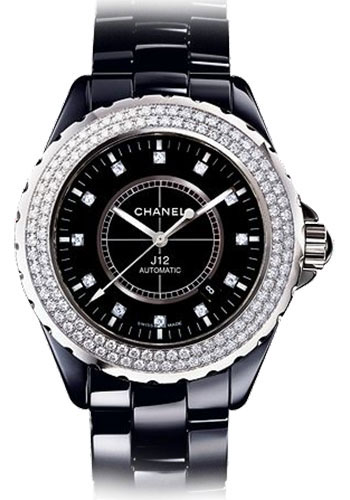 Chanel Watches - J12 Black Ceramic 42mm Automatic - Style No: H2014