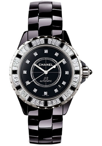 Chanel Watches - J12 Black Ceramic 33mm Automatic - Style No: H2022