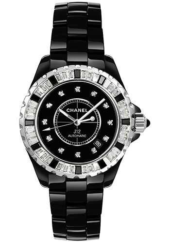 Chanel Watches - J12 Black Ceramic 38mm Automatic - Style No: H2023