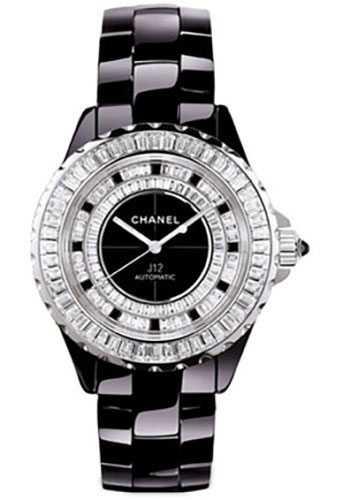 Chanel Watches - J12 Black Ceramic 33mm Automatic - Style No: H2025