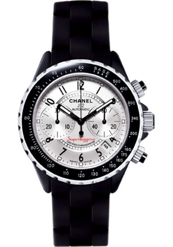 Chanel Watches - J12 Black Ceramic 41mm Superleggera Chronograph - Style No: H2039