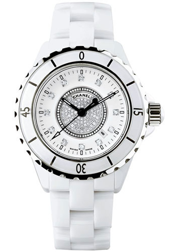 Chanel Watches - J12 White Ceramic 33mm Quartz - Style No: H2123