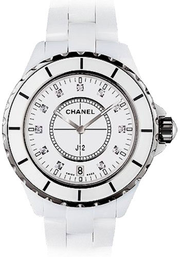 Chanel Watches - J12 White Ceramic 38mm Quartz - Style No: H2125