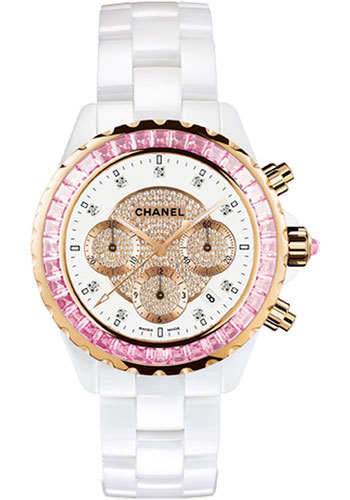 Chanel Watches - J12 White Ceramic 41mm Chronograph - Style No: H2161