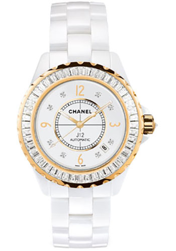 Chanel Watches - J12 White Ceramic 38mm Automatic - Style No: H2311