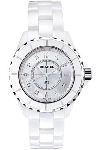Chanel Watches - J12 White Ceramic 33mm Quartz - Style No: H2422