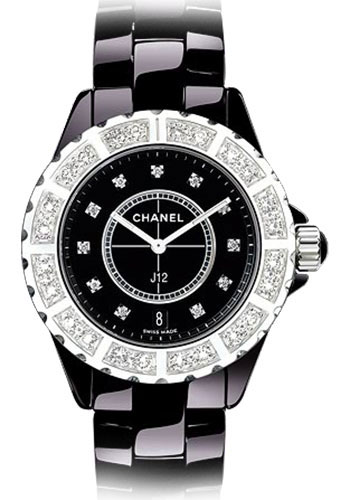 Chanel Watches - J12 Black Ceramic 38mm Automatic - Style No: H2428