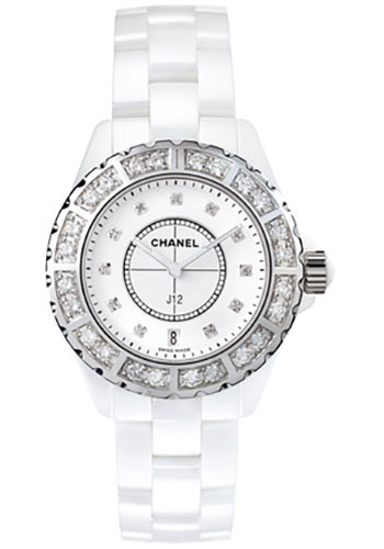 Chanel Watches - J12 White Ceramic 33mm Quartz - Style No: H2429