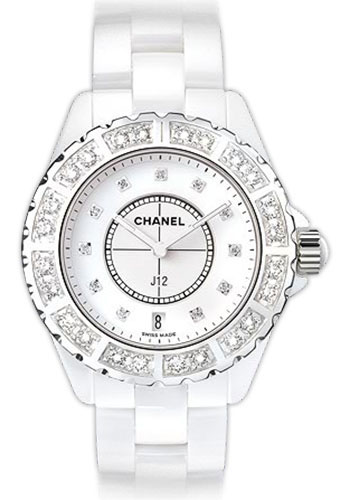 Chanel Watches - J12 White Ceramic 38mm Automatic - Style No: H2430