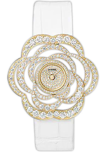 Chanel Watches - Camelia Collection - Style No: H2510