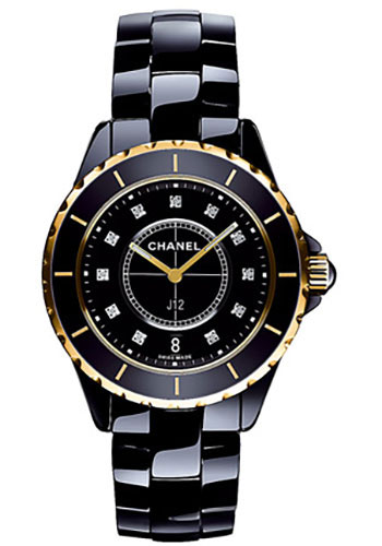 Chanel Watches - J12 Black Ceramic 33mm Quartz - Style No: H2543