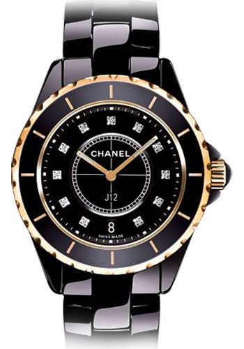Chanel Watches - J12 Black Ceramic 38mm Automatic - Style No: H2544