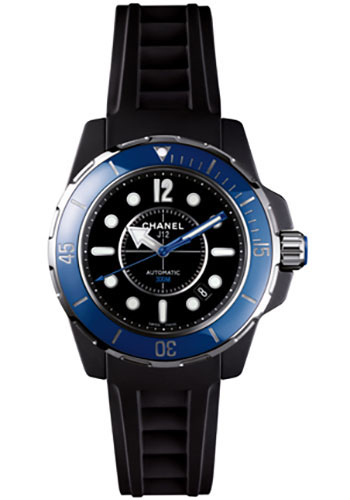 Chanel Watches - J12 Black Ceramic 38mm Marine Automatic - Style No: H2561