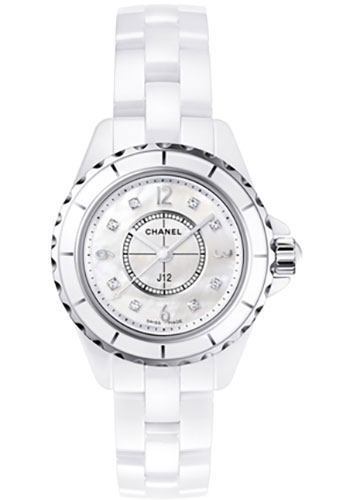 Chanel Watches - J12 White Ceramic 29mm Quartz - Style No: H2570