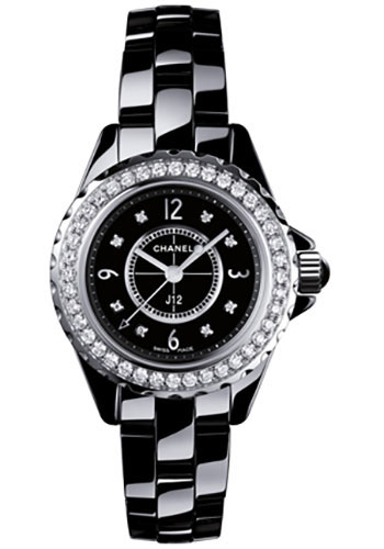 Chanel Watches - J12 Black Ceramic 29mm Quartz - Style No: H2571