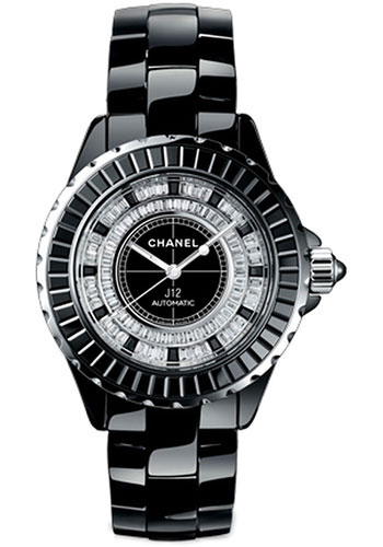 Chanel Watches - J12 Black Ceramic 38mm Automatic - Style No: H2611