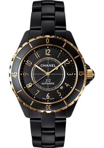 Chanel Watches - J12 Black Ceramic 42mm Automatic - Style No: H2918