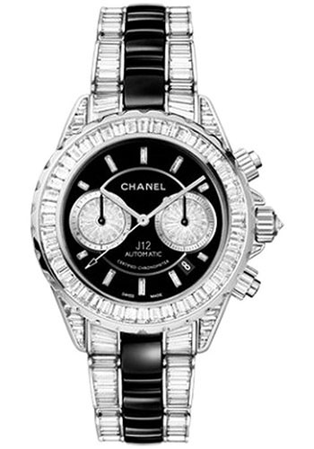 Chanel Watches - J12 White Gold 41mm Chronograph - Style No: H2920