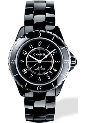 Chanel Watches - J12 Black Ceramic 42mm Automatic - Style No: H2980
