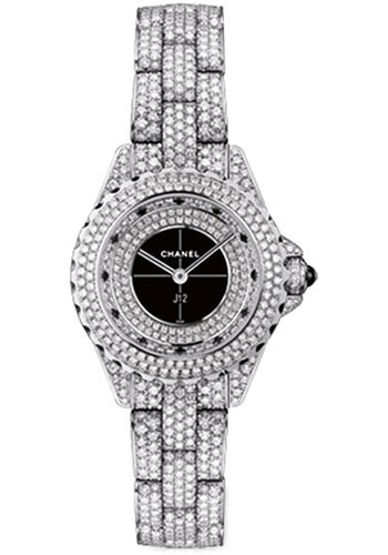 Chanel Watches - J12 White Gold 38mm Automatic - Style No: H3056