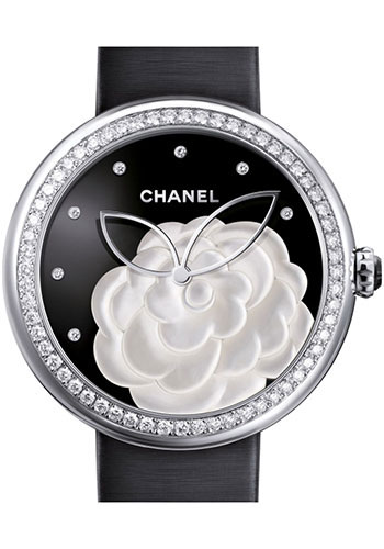 Chanel Watches - Mademoiselle Prive 37.5mm Quartz - Style No: H3096