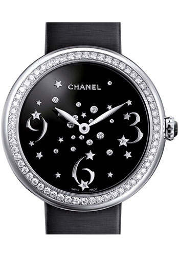 Chanel Watches - Mademoiselle Prive 37.5mm Quartz - Style No: H3097