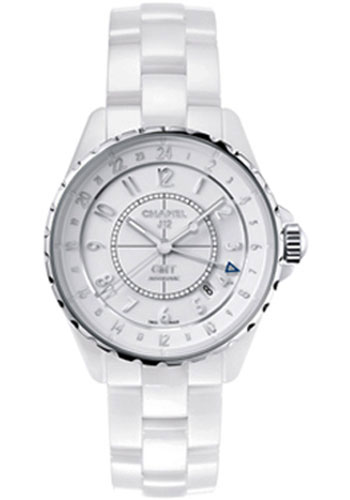 Chanel Watches - J12 White Ceramic 38mm GMT - Style No: H3103