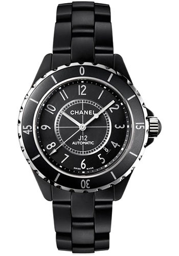 Chanel Watches - J12 Black Ceramic 42mm Automatic - Style No: H3131