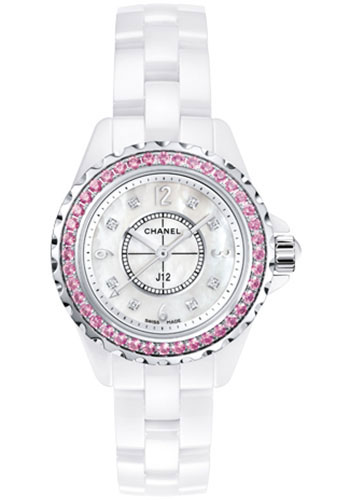 Chanel Watches - J12 White Ceramic 29mm Quartz - Style No: H3243