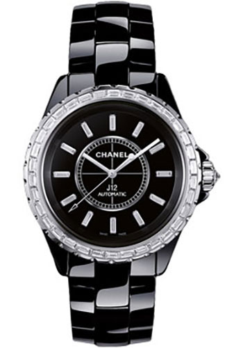 Chanel Watches - J12 Black Ceramic 33mm Automatic - Style No: H3383