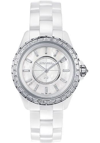 Chanel Watches - J12 White Ceramic 33mm Quartz - Style No: H3385