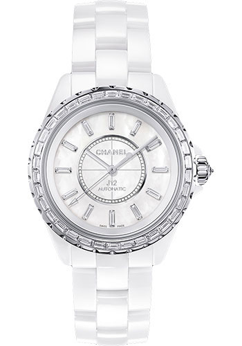 Chanel Watches - J12 White Ceramic 38mm Automatic - Style No: H3386