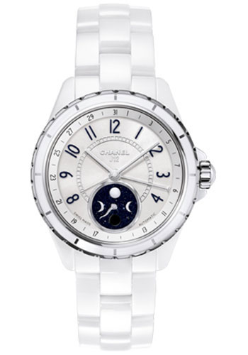 Chanel Watches - J12 White Ceramic 38mm Moonphase - Style No: H3404