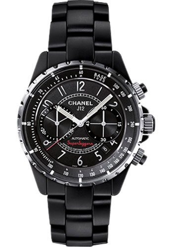 Chanel Watches - J12 Black Ceramic 41mm Superleggera Chronograph - Style No: H3409
