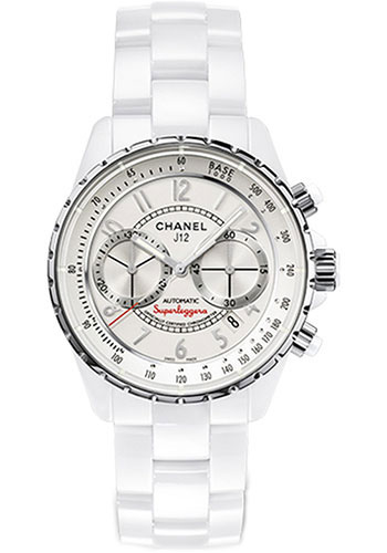 Chanel Watches - J12 White Ceramic 41mm Superleggera Chronograph - Style No: H3410