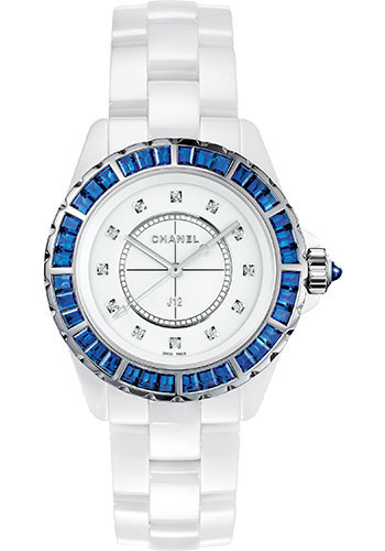 Chanel Watches - J12 White Ceramic 33mm Quartz - Style No: H3420